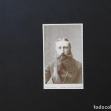 Fotografía antigua: ALBÚMINA DE LEOPOLDO II. Lote 142024674