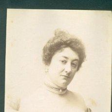 Fotografía antigua: FOTOGRAFIA ESPLUGAS SXIX (APROXIMADAMENTE 1870) MUJER . Lote 142271562