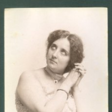 Fotografía antigua: FOTOGRAFIA ESPLUGAS SXIX (APROXIMADAMENTE 1870) MUJER . Lote 142272018