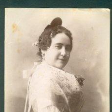 Fotografía antigua: FOTOGRAFIA ESPLUGAS SXIX (APROXIMADAMENTE 1870) MUJER . Lote 142272214