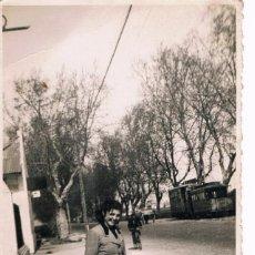 Fotografía antigua: VALENCIA. TRANVIA, CARRO.... Lote 142340942