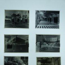 Fotografía antigua: IRUN - INTERIOR DEL HOTEL COLON - 6 CLICHES NEGATIVOS EN CELULOIDE - AÑO 1920-30. Lote 142648698