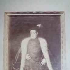 Fotografía antigua: J.LAURENT. A.S. COELLO.REF.93 RETRATO DEL PRINCIPE CARLOS.HIJO DE FELIPE II.MUSEO DEL PRADO.REF 66. Lote 142854198
