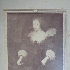 Fotografía antigua: VAN DYCK. REF-347.AMELIA DE SOLMS.PRINCESA DE ORANGE.MUSEO DEL PRADO.REFª72. Lote 142858122