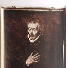 Fotografía antigua: FOTO ALBÚMINA. GRECO 159 : EL VENERABLE MAESTRO D. JUAN DE AVILA (28 X 23). Lote 143665718