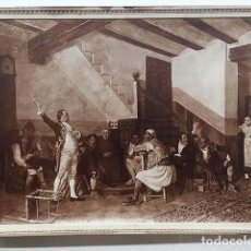 Fotografía antigua: FOTO ALBÚMINA. B. FERRANDIZ : 60. EL CHARLATÁN POLÍTICO. (MUSEO DE ARTE MODERNO ?) 29 X 22 CM. Lote 143665862
