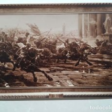 Fotografía antigua: FOTO ALBÚMINA. U. CHECA : 100. LA INVASIÓN DE LOS BÁRBAROS. (MUSEO DE ARTE MODERNO) 28 X 19,5 CM. Lote 143665954