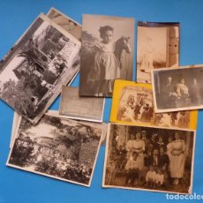 Fotografía antigua: 13 BONITAS FOTOGRAFIAS VARIAS - AÑOS 1910-40. Lote 143687802