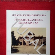 Fotografía antigua: TUBAL CATALOGO SUBASTA SOLER Y LLACH 1 ABRIL 2004 27 CM 300 GRS. Lote 143791950