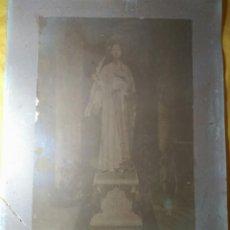 Fotografía antigua: ALBÚMINA GRAN TAMAÑO 40 X 45'5 CM. SANTA CATALINA. SIGLO XIX. Lote 143834922