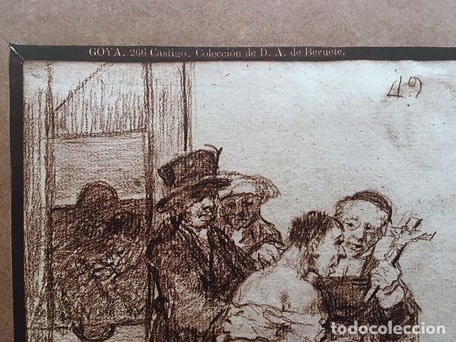 Fotografía antigua: Foto Albúmina. GOYA : 266. ´Castigo´. (Colección de D. A. de Beruete 29 x 23 cm) - Foto 2 - 143859258