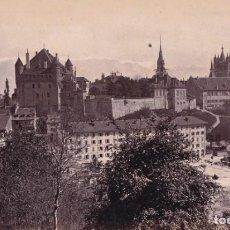 Fotografía antigua: 1860'S FOTOGRAFÍA ORIGINAL ALBÚMINA ATRIBUIDA A FRANCIS FRITH LAUSANNE SUIZA. Lote 144054918