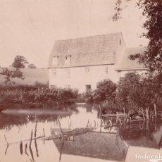 Fotografía antigua: 1870'S FOTOGRAFÍA ORIGINAL ALBÚMINA RICH ESTATE GRAN BRETAÑA 24,0 X 18,0 CM. Lote 144069278
