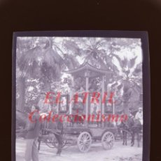 Fotografía antigua: VALENCIA - CARRUAJE CABALGATA - NEGATIVO EN CELULOIDE - AÑOS 1930-40. Lote 145048002
