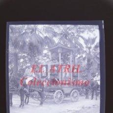Fotografía antigua: VALENCIA - CARRUAJE CABALGATA - NEGATIVO EN CELULOIDE - AÑOS 1930-40. Lote 145048294