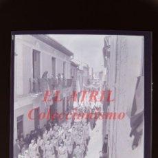 Fotografía antigua: VALENCIA O PROVINCIA - PROCESION - NEGATIVO EN CELULOIDE - AÑOS 1930-40. Lote 145048454