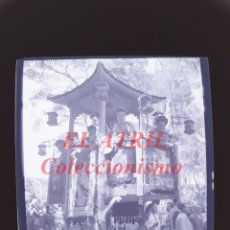 Fotografía antigua: VALENCIA - CARRUAJE CABALGATA - NEGATIVO EN CELULOIDE - AÑOS 1930-40. Lote 145048570