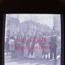 Fotografía antigua: VALENCIA - FALLAS, FALLERAS - NEGATIVO EN CELULOIDE - AÑOS 1930-40. Lote 145048734