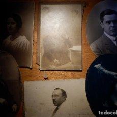 Fotografía antigua: LOTE DE 6 FOTOGRAFIAS ANTIGUAS - PUEDEN VER FOTOS INDEPENDIENTES DE CADA UNA . Lote 145455502