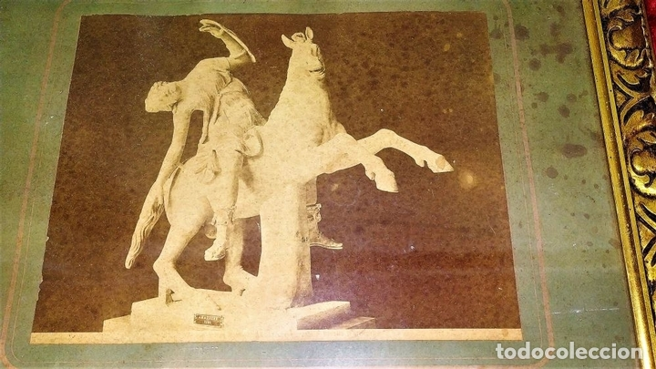 Fotografía antigua: LA CASA DEL BALCONE PENSILE. AMAZONA FARNESE. FOTOGRAFÍA. GIACOMO BROGI. ITALIA. CIRCA 1880 - Foto 6 - 145502614