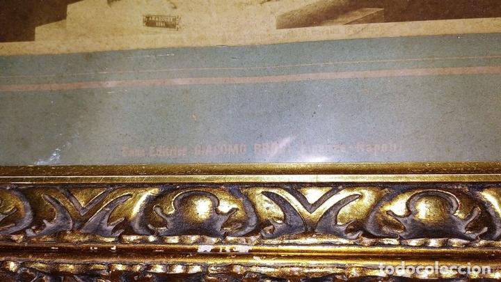 Fotografía antigua: LA CASA DEL BALCONE PENSILE. AMAZONA FARNESE. FOTOGRAFÍA. GIACOMO BROGI. ITALIA. CIRCA 1880 - Foto 7 - 145502614