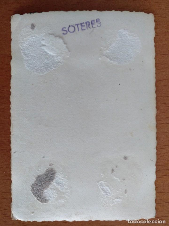 Fotografía antigua: FOTO EQUIPO DE FUTBOL SIN IDENTIFICAR PROBABLEMENTE EN BARCELONA FOTOGRAFO SOTERES. - Foto 2 - 145591122