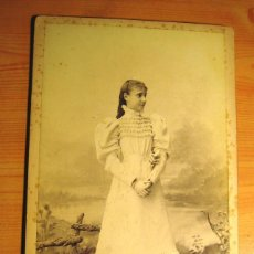 Fotografía antigua: FOTOGRAFIA ANTIGUA: PERSONAJES DE LA REALEZA- INFANTA Mª TERESA DE BORBÓN- S. XIX- ORIGINAL. Lote 146589858
