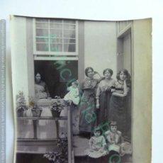 Fotografía antigua: FOTOGRAFÍA ANTIGUA ORIGINAL. FAMILIA. (10 X 8 CM). Lote 147160714