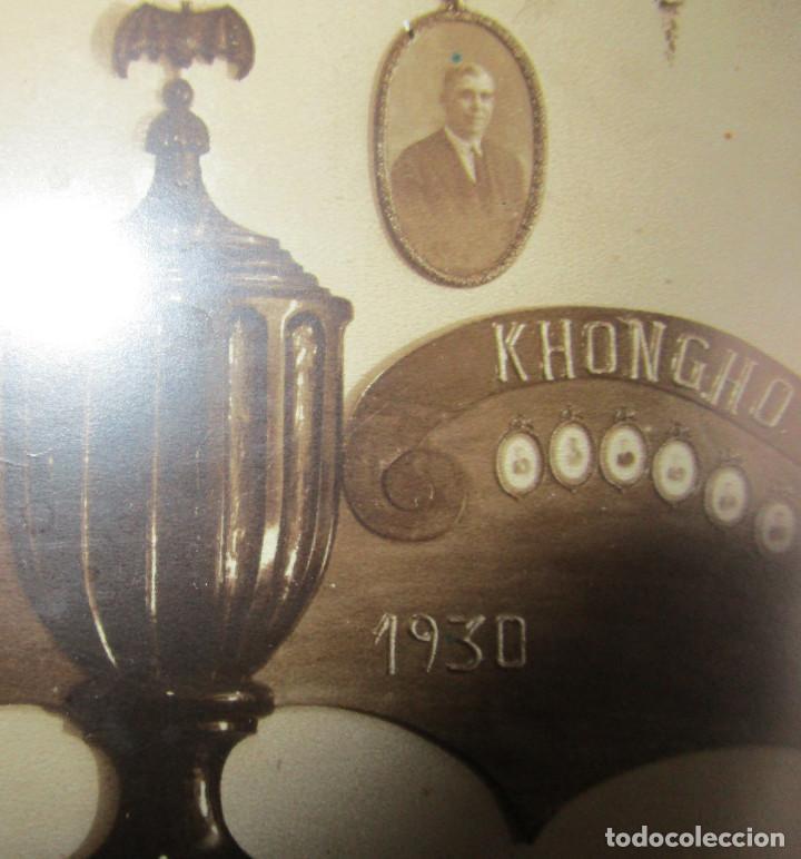 Fotografía antigua: FOTOGRAFIA ANTIGUA PEÑA KHONGHO ORLA CREACION ATENEO REPUBLICANO VALENCIA , EL PORVENIR 1930 - Foto 2 - 147170882