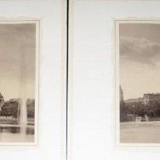 Fotografía antigua: DOS FOTOGRAFÍAS EN HUECOGRABADO DE LEIPZIG. LIBRERÍA J.B. KLEIN'S. ORIGINALES DE 1894.. Lote 147517446