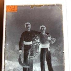 Fotografía antigua: PELOTARI PELOTA VASCA CESTA PUNTA 1900 NEGATIVOS EN CRISTAL FOT A ESPLUGUES. Lote 147744426
