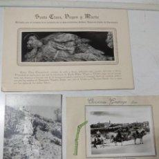 Fotografía antigua: LOTE DELE 3 FOTOGRAFÍAS DE DIFERENTES LUGARES, UNA DE ELLAS ES RECUERDO DE SANTA CLARA, OTRO ES UN C. Lote 147760630