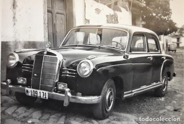 Fotografía antigua: FOTOGRAFIA ANTIGUA DE MERCEDES BENZ - Foto 2 - 147787010