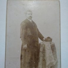 Fotografía antigua: FOTOGRAFIA SIGLO XIX. J. SELLIER. CORUÑA. FOTO DE JUEZ.. Lote 148191173