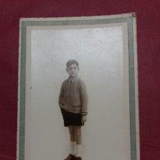 Fotografía antigua: FOTO ANTIGUA J. GUIXOT ALICANTE 1927. Lote 148579508