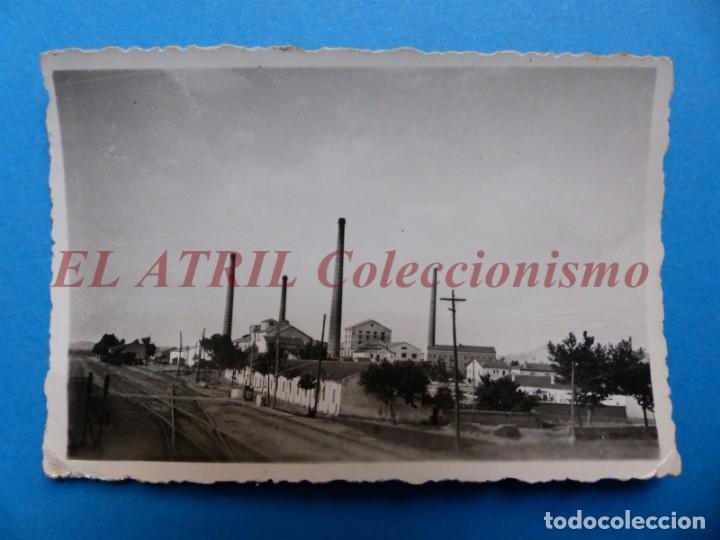 VALENCIA O PROVINCIA - VISTA VIAS DEL TREN - AÑOS 1930-40 (Fotografía Antigua - Albúmina)
