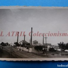 Fotografía antigua: VALENCIA O PROVINCIA - VISTA VIAS DEL TREN - AÑOS 1930-40. Lote 148810526