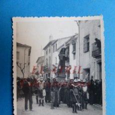 Fotografía antigua: VALENCIA - PROCESION - AÑOS 1930-40. Lote 148813722