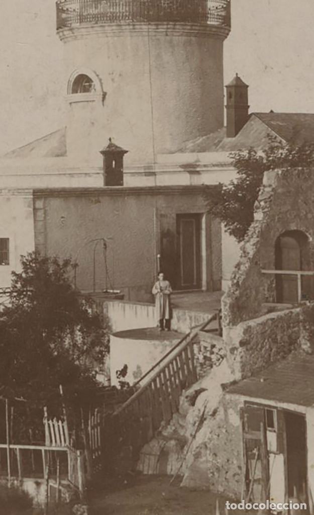 Fotografía antigua: EL FAR DE SANT SEBASTIÀ, COSTA BRAVA - PALAFRUGELL. 1880 APROX. SOPORTE:10,5X17 CM. - Foto 2 - 150967390