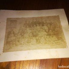 Fotografía antigua: ALICANTE - ESCUELA DE HUERFANOS - ORFANATO - FOTOGRAFIA SIGLO XIX - ALBUMINA - 21,5 X 16,5 CMS.. Lote 151085998