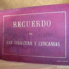 Fotografía antigua: ANTIGUAS ALBUMINAS RECUERDO DE SAN SEBASTIAN Y CERCANIAS - AÑO 1870 - EXCEPCIONAL.. Lote 151482994
