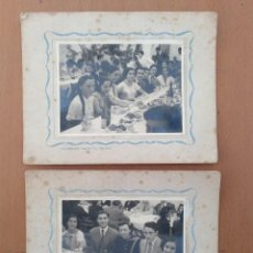 Alte Fotografie - DOS FOTOS ALUMNOS INSTITUTO VERDAGUER DE BARCELONA AÑO 1947 FOTOS DOMENECH - 151729966