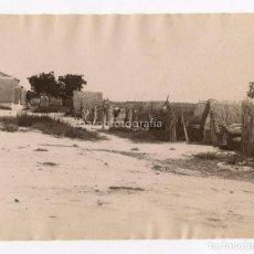 Fotografía antigua: VALENCIA - Nº367. VISTA DE LA ALBUFERA. FOTOGRAFÍA: ANTONI ESPLUGAS. 1880 APROX.. Lote 151845642