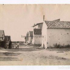 Fotografía antigua: VALENCIA, CALLE DEL POMAR, Nº347. FOTOGRAFÍA: ANTONI ESPLUGAS. 1880 APROX. 16,5X21 CM.. Lote 151847470