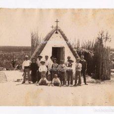 Fotografía antigua: VALENCIA, BARRACAS EN LA ALBUFERA. NUM. 403.1880 APROX. FOTO: ANTONI ESPLUGAS. 16,5X21CM.. Lote 151853674