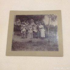 Fotografía antigua: AÑO 1901, FOTOGRAFIA ANTIGUA FAMILIAR .. Lote 152445634