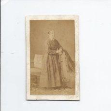 Fotografía antigua: FOTOGRAFÍA ANTIGUA SEÑORA. 10.5 X 6.2 CM APROX. . Lote 152519478