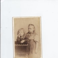Fotografía antigua: FOTOGRAFÍA ANTIGUA NIÑAS. 10.5 X 6.2 CM APROX. . Lote 152519686