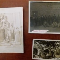 Fotografía antigua: GRUPO DE AMIGOS GUALA IBI ALICANTE.1923. Lote 152551376