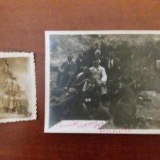 Fotografía antigua: GRUPO DE AMIGOS GUALA IBI ALICANTE 1924.TORROSELLA. Lote 152551518